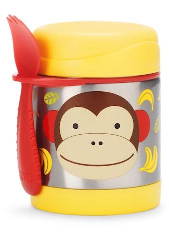 Skip Hop Thermobehälter »Zoo Edelstahl Warmhaltebehälter Affe«, (2 tlg.), mit Multibesteck kaufen