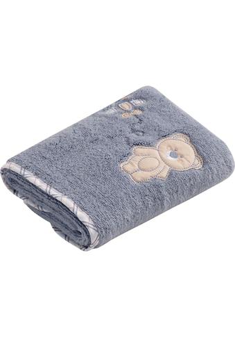 Vossen Handtuch »Teddy«, (2 St.), mit niedlicher Stickerei kaufen