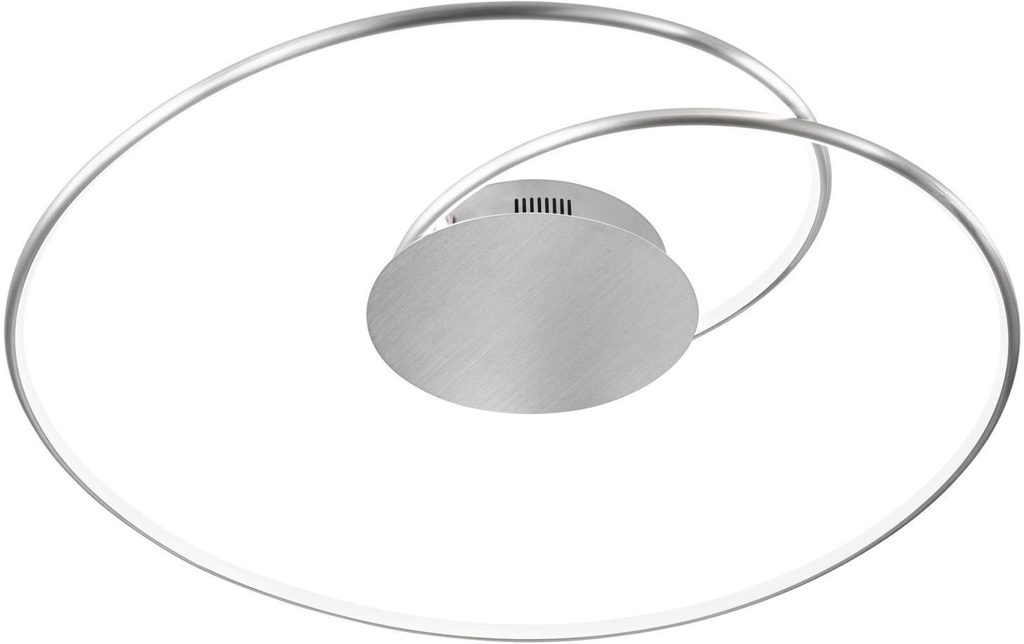 WOFI LED Deckenleuchte OPUS, LED-Board, Warmweiß, LED Deckenlampe