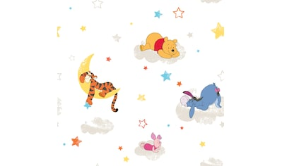 Disney Papiertapete »Pu der Bär«, Mehrfarbig - 10m x 52cm kaufen