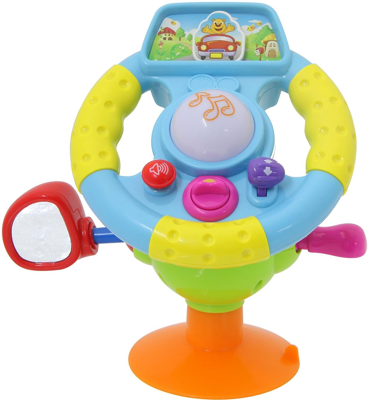 Jamara Lernspielzeug, Lenkrad First Step Baby Drive bunt Kinder Lernspiele Lernspielzeug