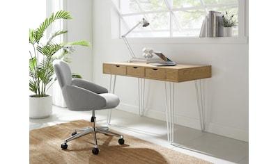 COUCH♥ Schreibtischstuhl »Komfortzone«, Höhenverstellbar, Beine aus Metall kaufen
