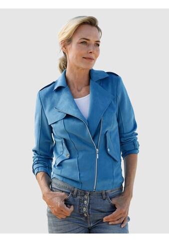 Dress In Lederimitatjacke, mit asymmetrischem Reißverschluss kaufen