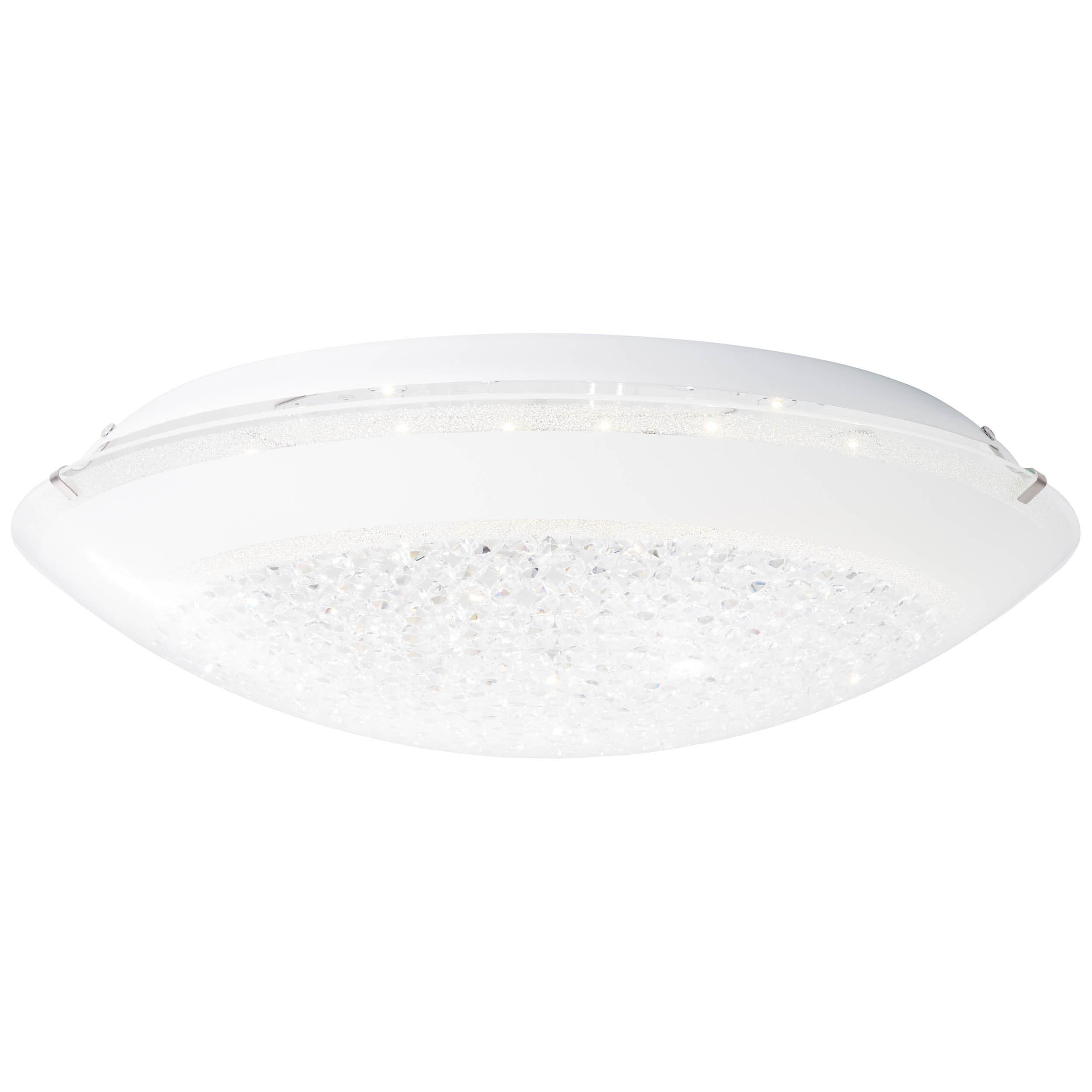 Brilliant Leuchten Vera LED Wand- und Deckenleuchte 50cm weiß/transparent