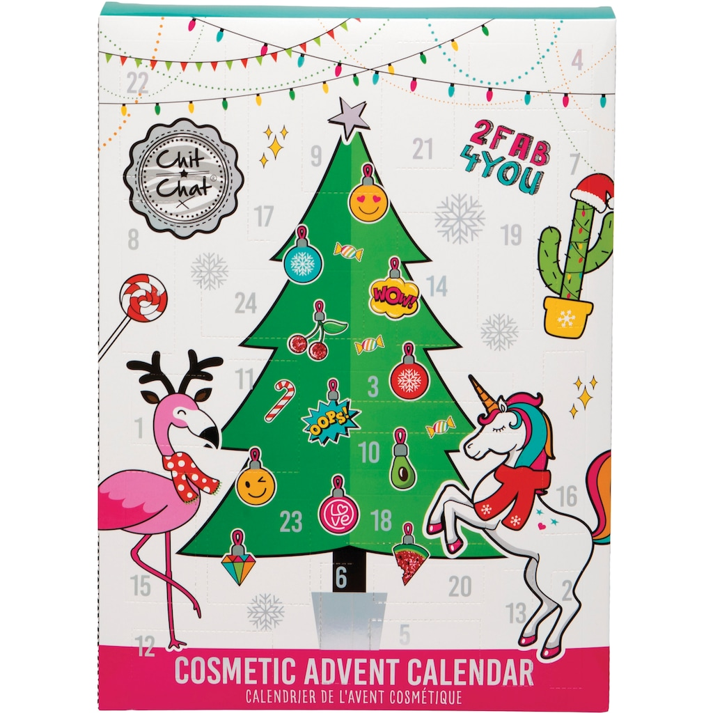 Adventskalender »Chit Chat - Advent Calendar«, ab 12 Jahren