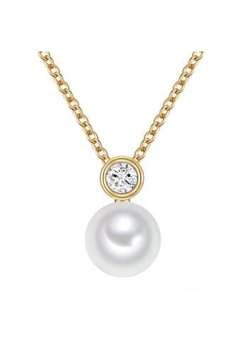 Valero Pearls Perlenkette »NW159«, (1 tlg.), mit Süßwasser-Zuchtperlen kaufen