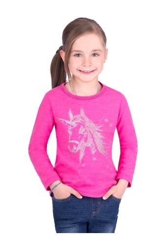 Trigema Sweater mit Einhorn kaufen