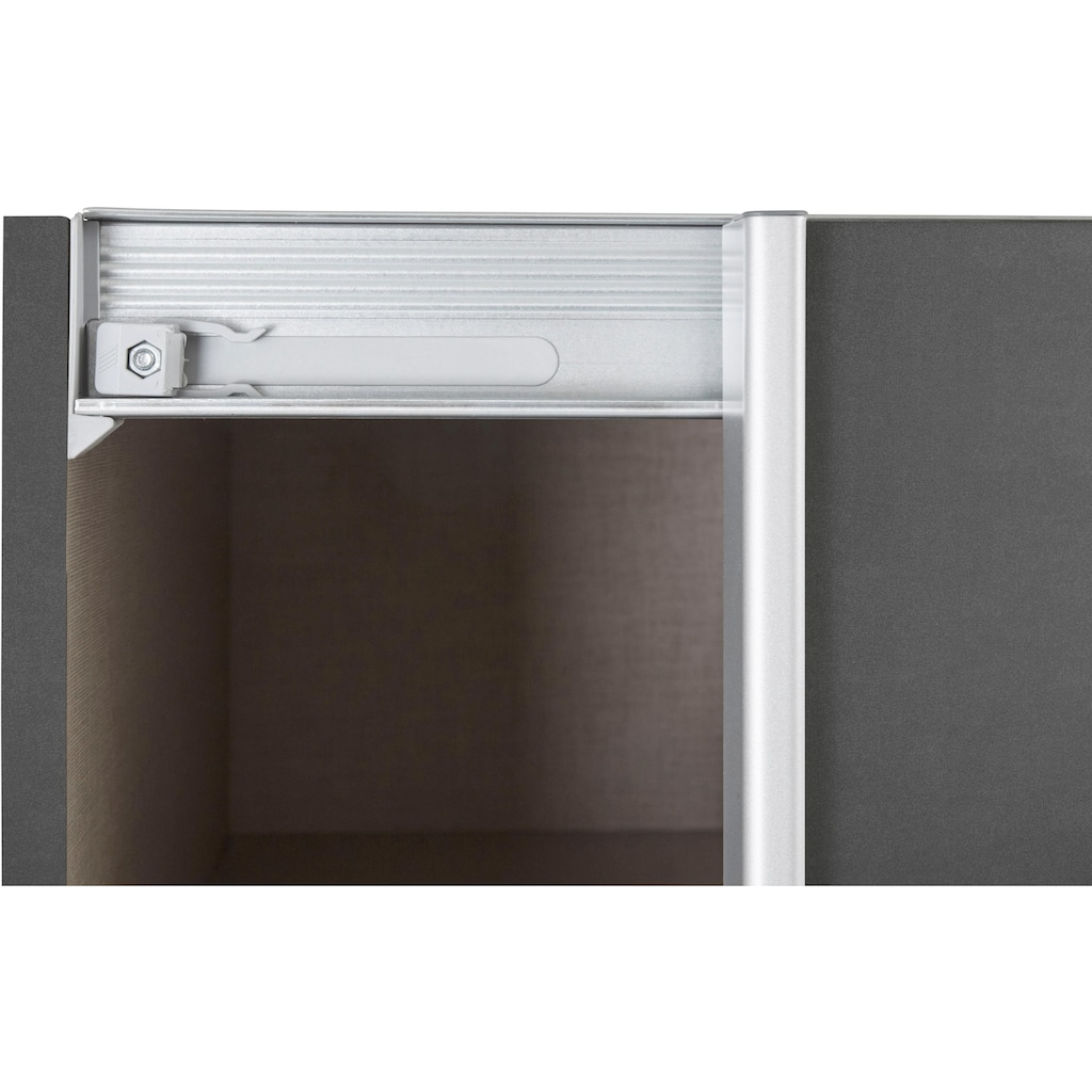 rauch ORANGE Schwebetürenschrank »Cortona«, inkl. Inneneinteilung, 2 Stoffboxen und zusätzlichen Einlegeböden