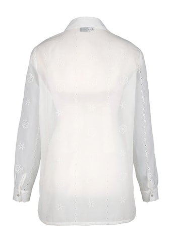 m. collection Bluse rundum mit Lochstickerei kaufen