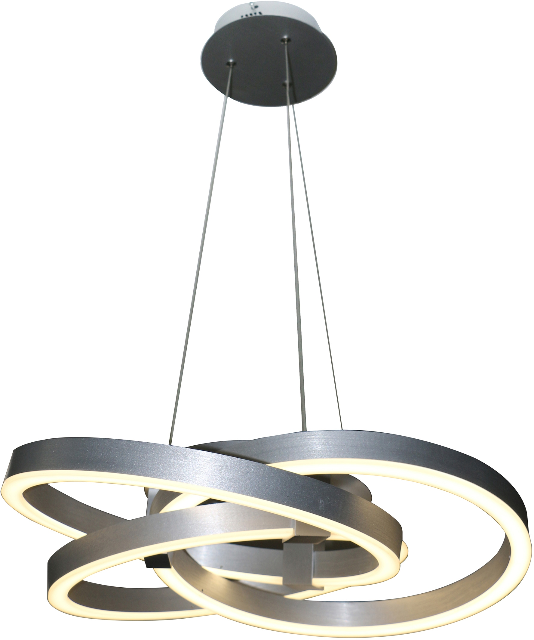 näve LED Pendelleuchte Divora, LED-Board, Neutralweiß-Kaltweiß, LED Hängelampe, LED Hängeleuchte, Smart Home