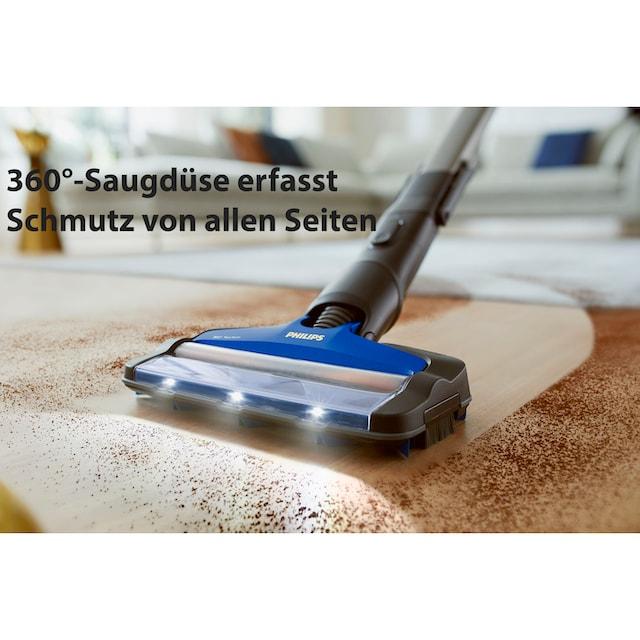 Philips Akku-Hand-und Stielstaubsauger XC8045/01 SpeedPro Max, beutellos