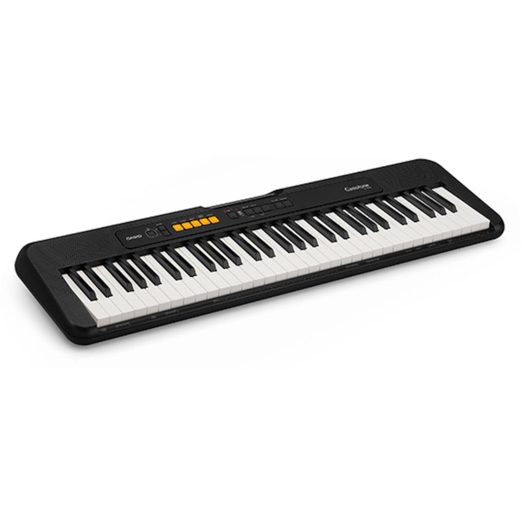 CASIO Keyboard »Casiotone CT-S100AD«, inkl. Netzadapter und Stativ