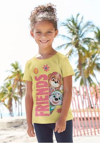 PAW PATROL T-Shirt, mit SKYE und EVEREST Motiv kaufen