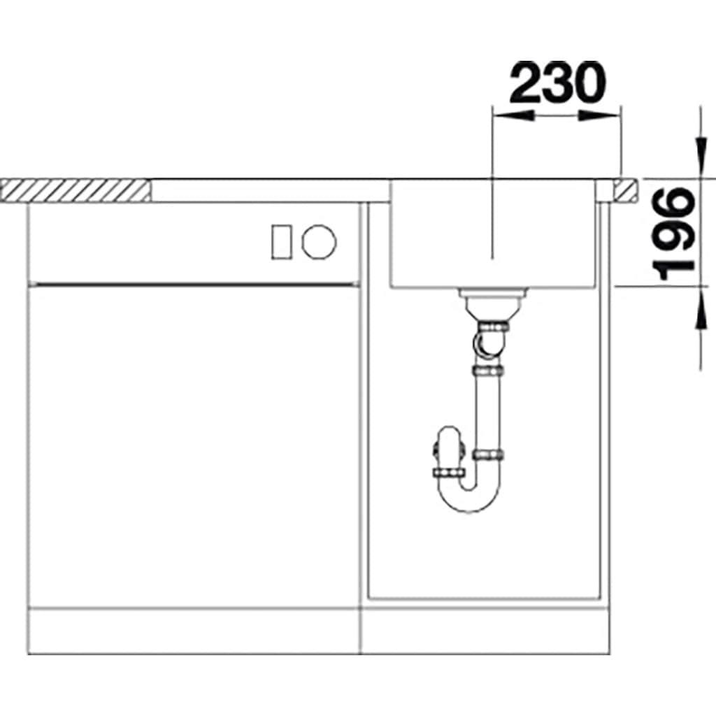 Blanco Küchenspüle »DIVON II 45 S-IF«