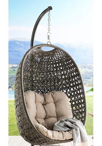 DESTINY Hängestuhl »Cocoon«, Stahl/Polyrattan, ohne Gestell kaufen