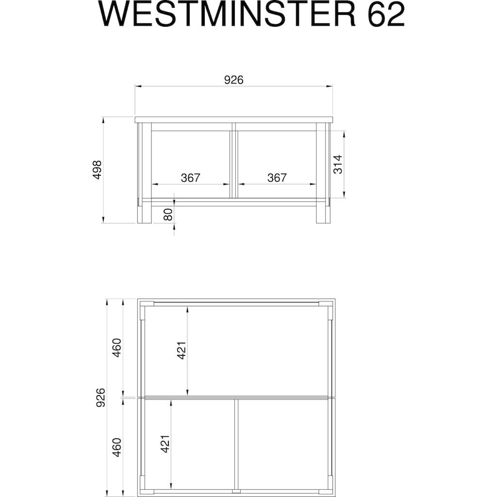 Home affaire Couchtisch »Westminster S«, im romantischen Landhausstil