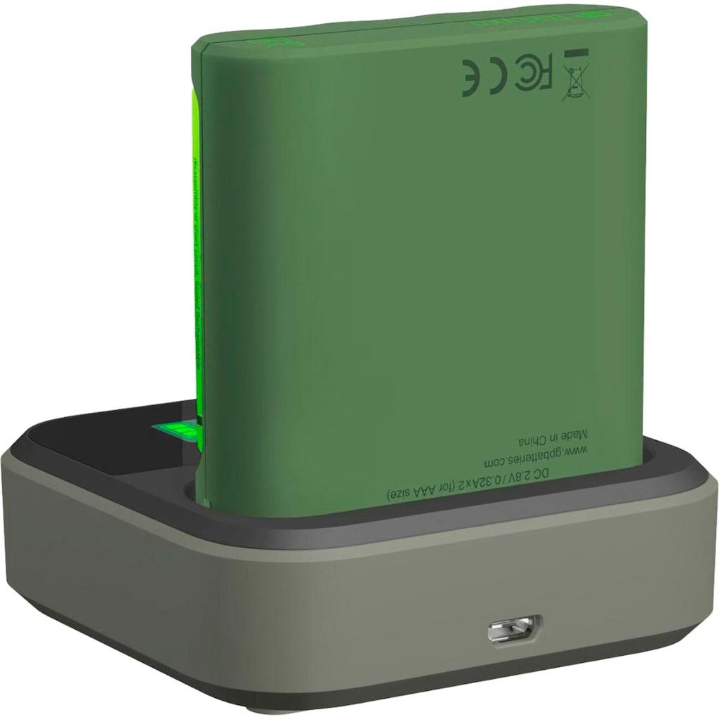 GP Batteries Batterie-Ladegerät »USB-Modell GP B421 4 x ReCyko AA 2100 mAh USB Dockingstation«