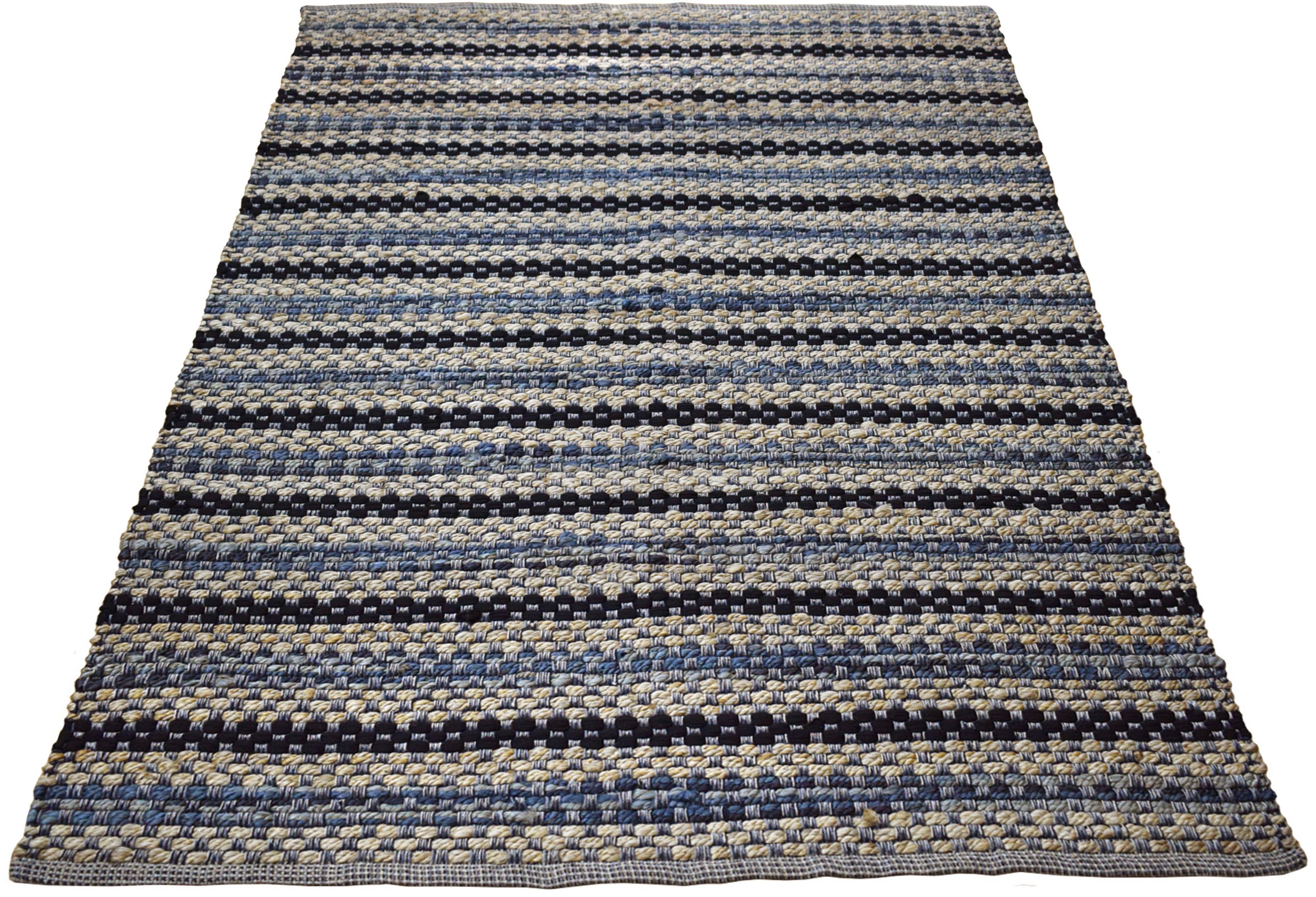 Teppich Olivia andas rechteckig Höhe 14 mm handgewebt