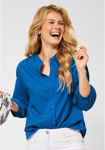 Cecil Klassische Bluse, mit Lochmuster kaufen