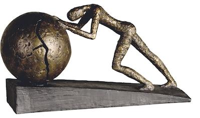 Casablanca by Gilde Dekofigur »Skulptur Heavy Ball«, Dekoobjekt, Höhe 22 cm, mit... kaufen