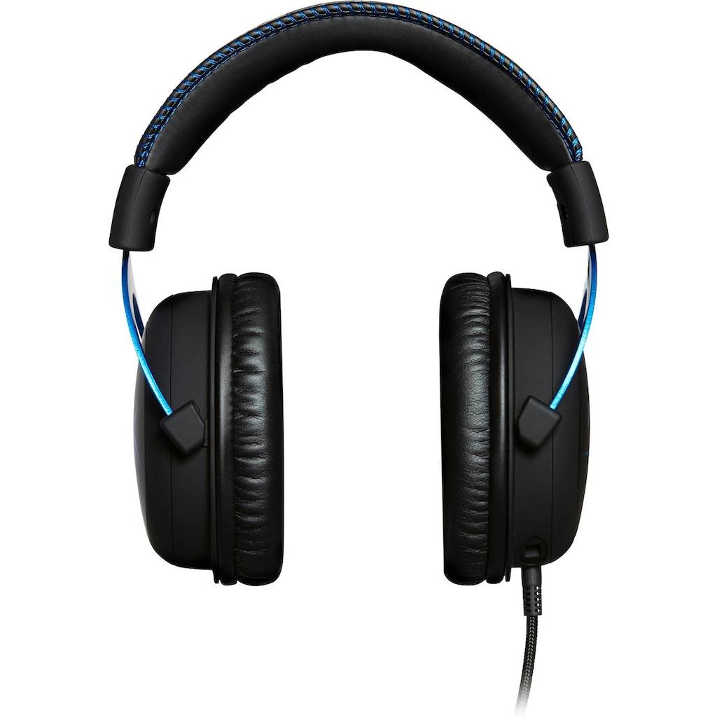 HyperX Gaming-Headset »Cloud Blue«, Rauschunterdrückung