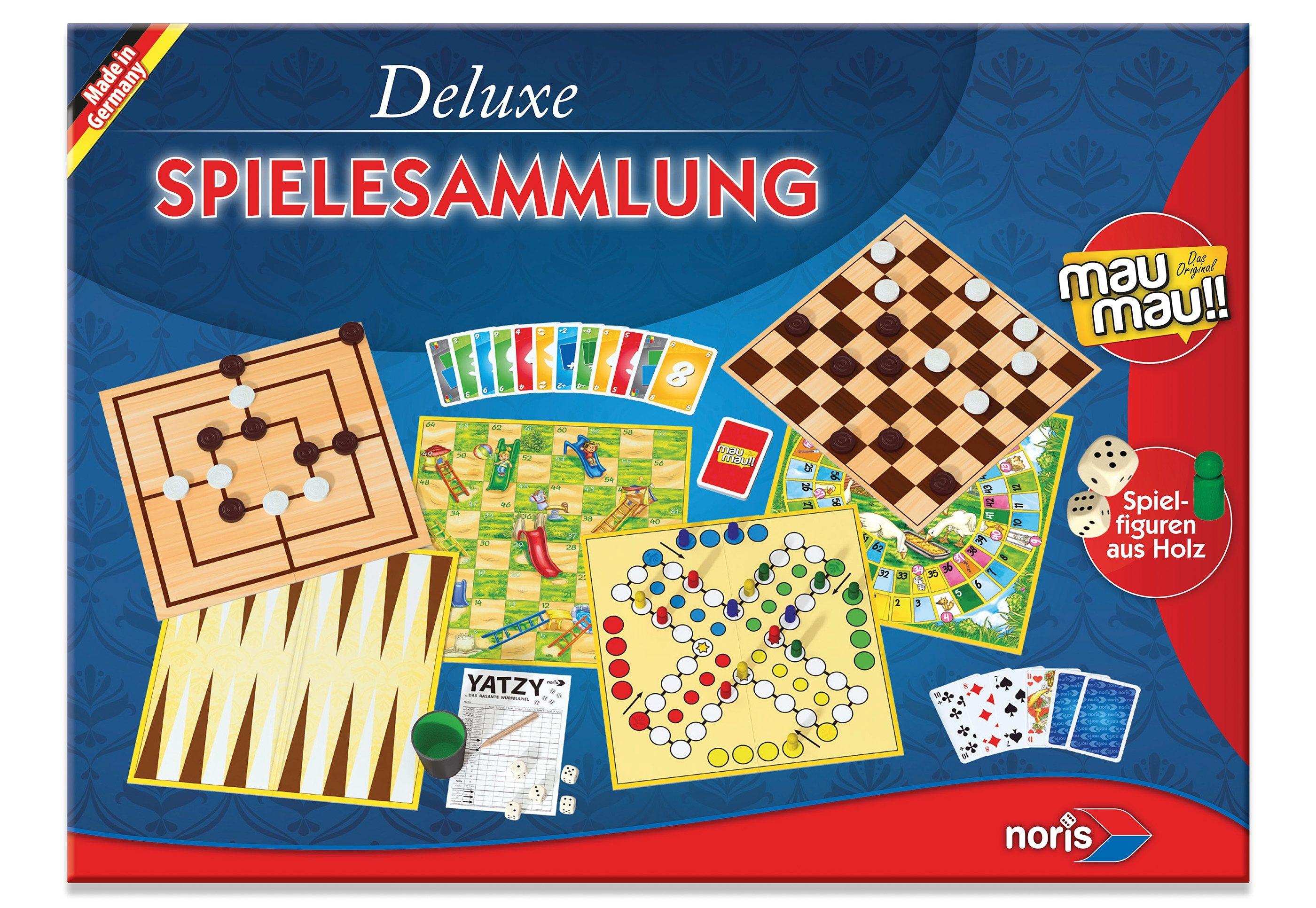 Noris, Spielesammlung,  Deluxe Spielesammlung  Preisvergleich