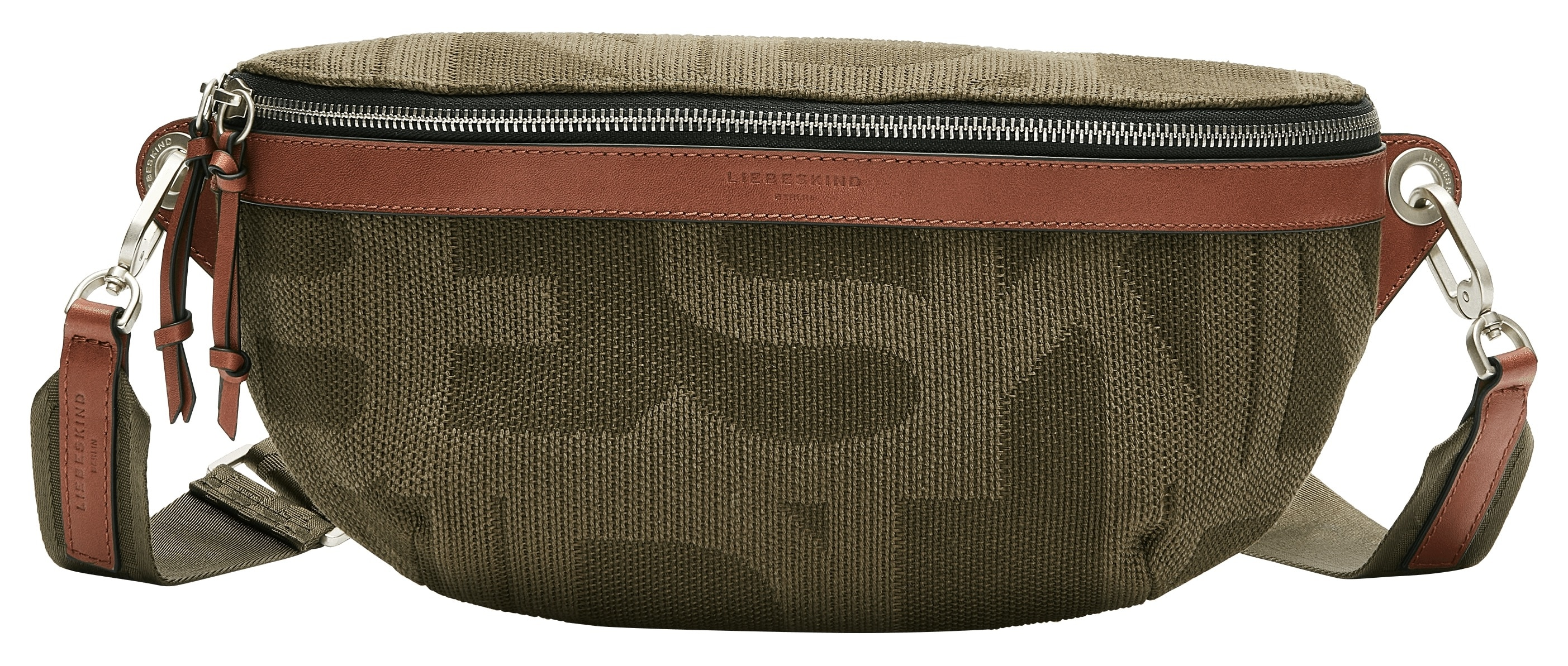 liebeskind berlin -  Bauchtasche Gloria Belt Bag, mit farblich abgesetztem Logomonogramm