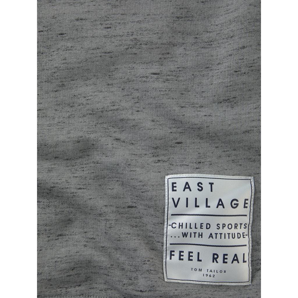 TOM TAILOR Sweatshirt »Sweatshirt mit Print-Badge«