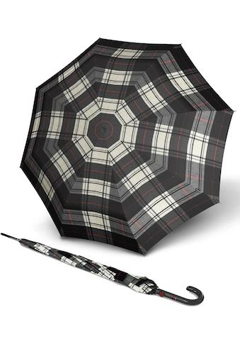 Knirps® Stockregenschirm »T.703 Stick Automatic, Black White« kaufen