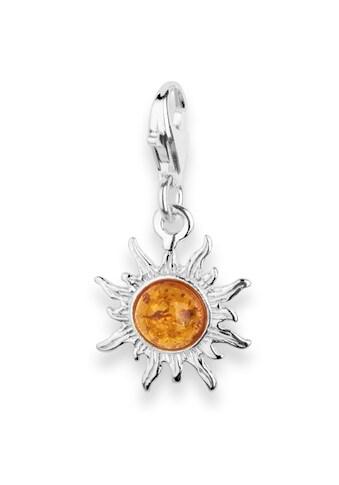 OSTSEE-SCHMUCK Kettenanhänger »- Sonne 14 mm - Silber 925/000 - Bernstein«, (1 tlg.) kaufen