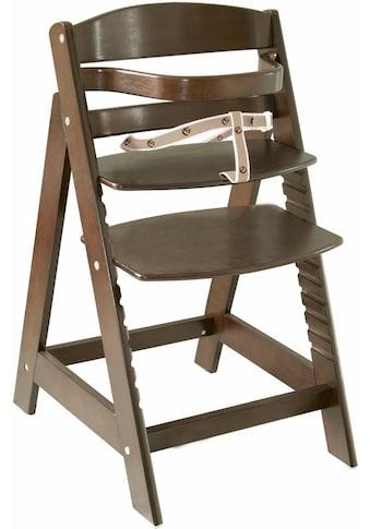 roba® Hochstuhl »Treppenhochstuhl Sit up III, braun«, aus Holz kaufen