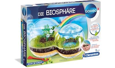 Clementoni® Experimentierkasten »Galileo - Die Biosphäre«, Made in Europe kaufen