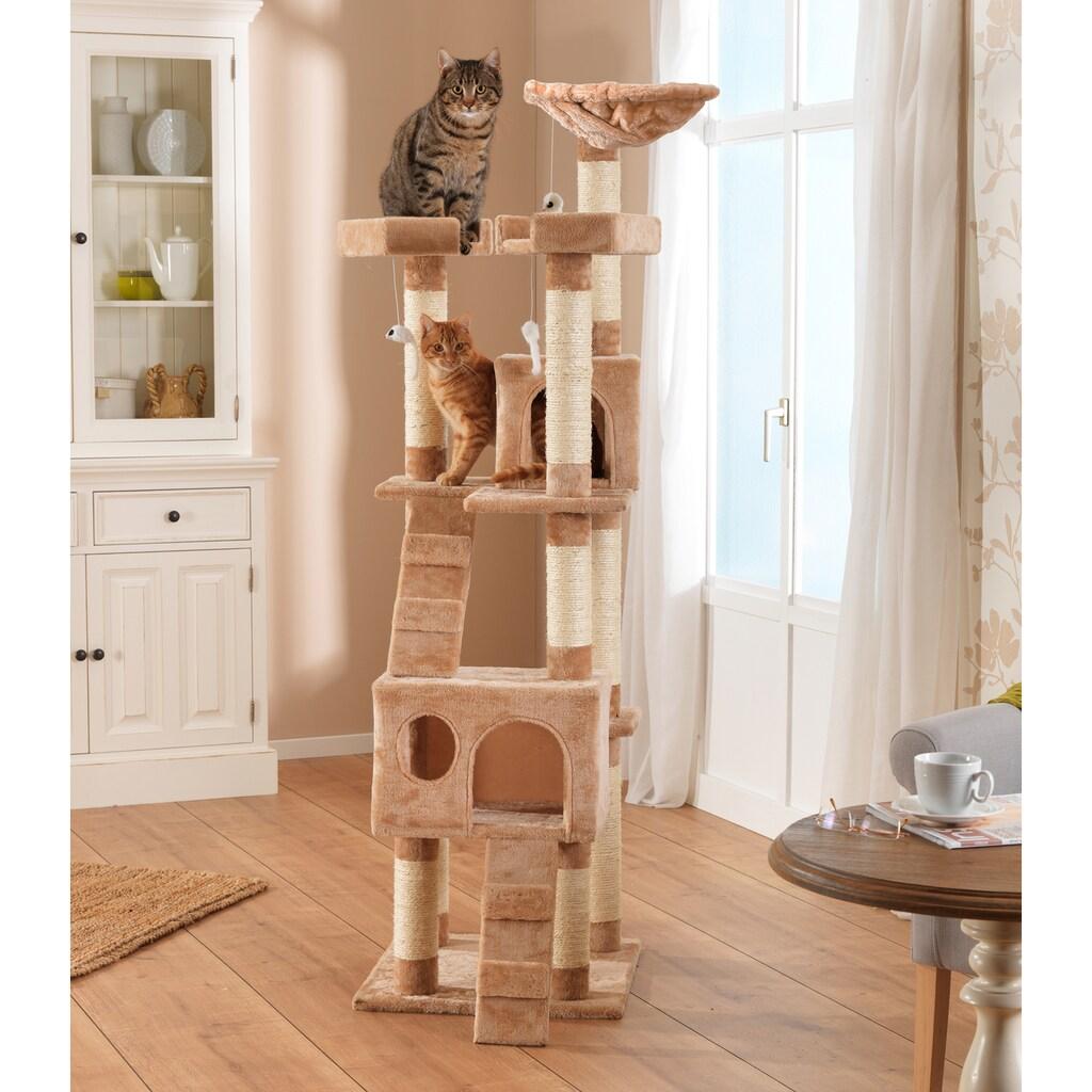 SILVIO design Kratzbaum »Deluxe«, hoch, BxTxH: 50x50x170 cm