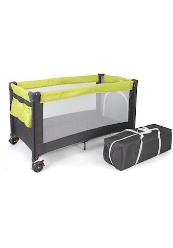 CHIC4BABY Baby - Reisebett, »Luxus, Lemongreen« kaufen