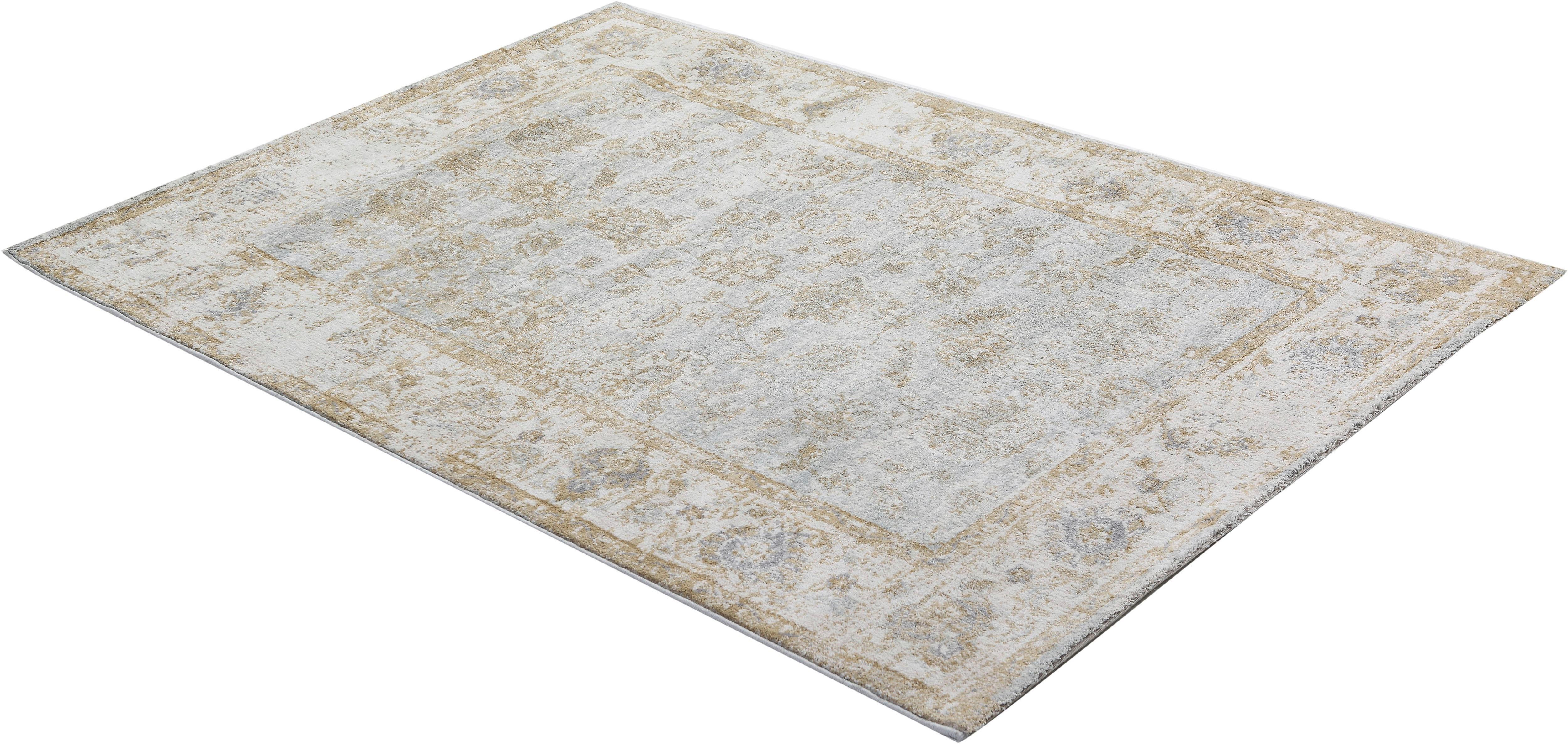 Teppich Anna Maria Flower Gino Falcone rechteckig Höhe 20 mm maschinell gewebt