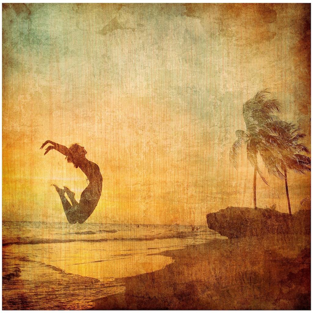 Art & Pleasure Holzbild »Free mind«, Fantasy