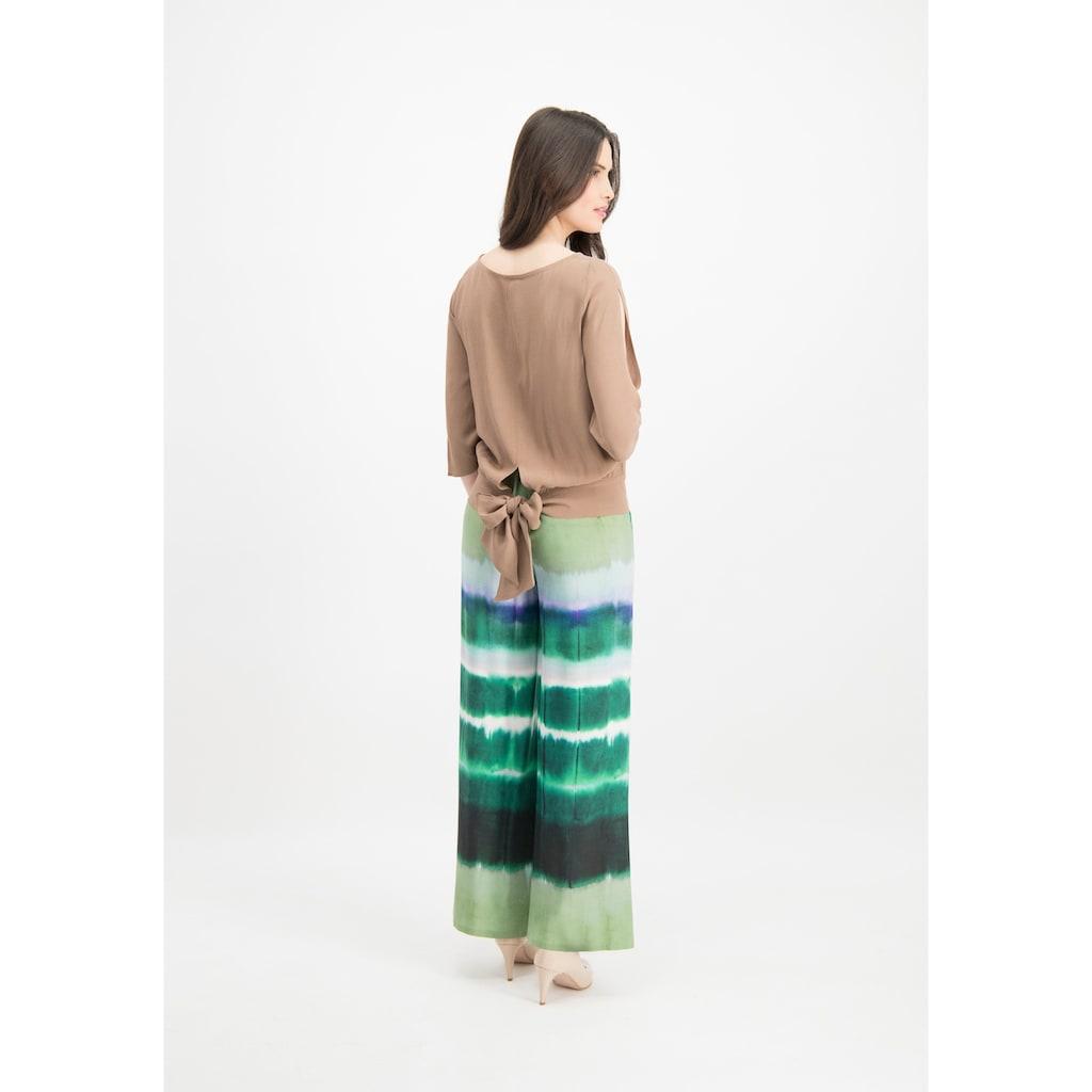 Nicowa Edle Bluse ORRIDA mit modischen Details