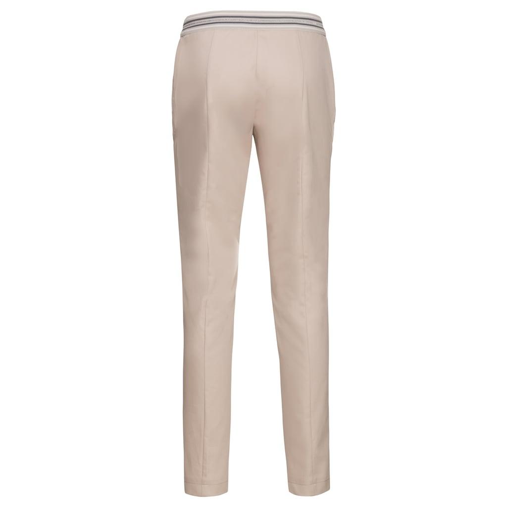 bianca Stretch-Hose »SIENA«, in den stilvollen Trendfarben mit Gummizug