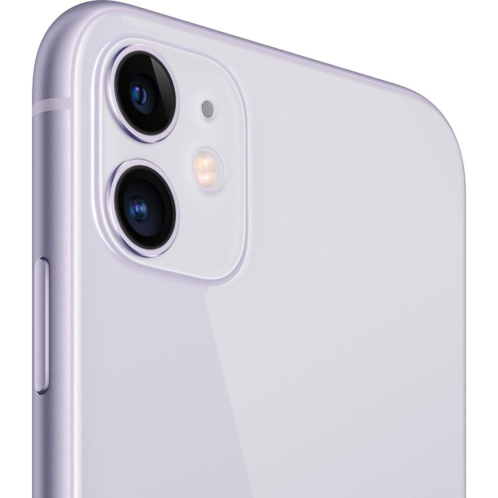 """Apple Smartphone »iPhone 11«, (15,5 cm/6,1 """" 64 GB Speicherplatz, 12 MP Kamera), ohne Strom-Adapter und Kopfhörer"""