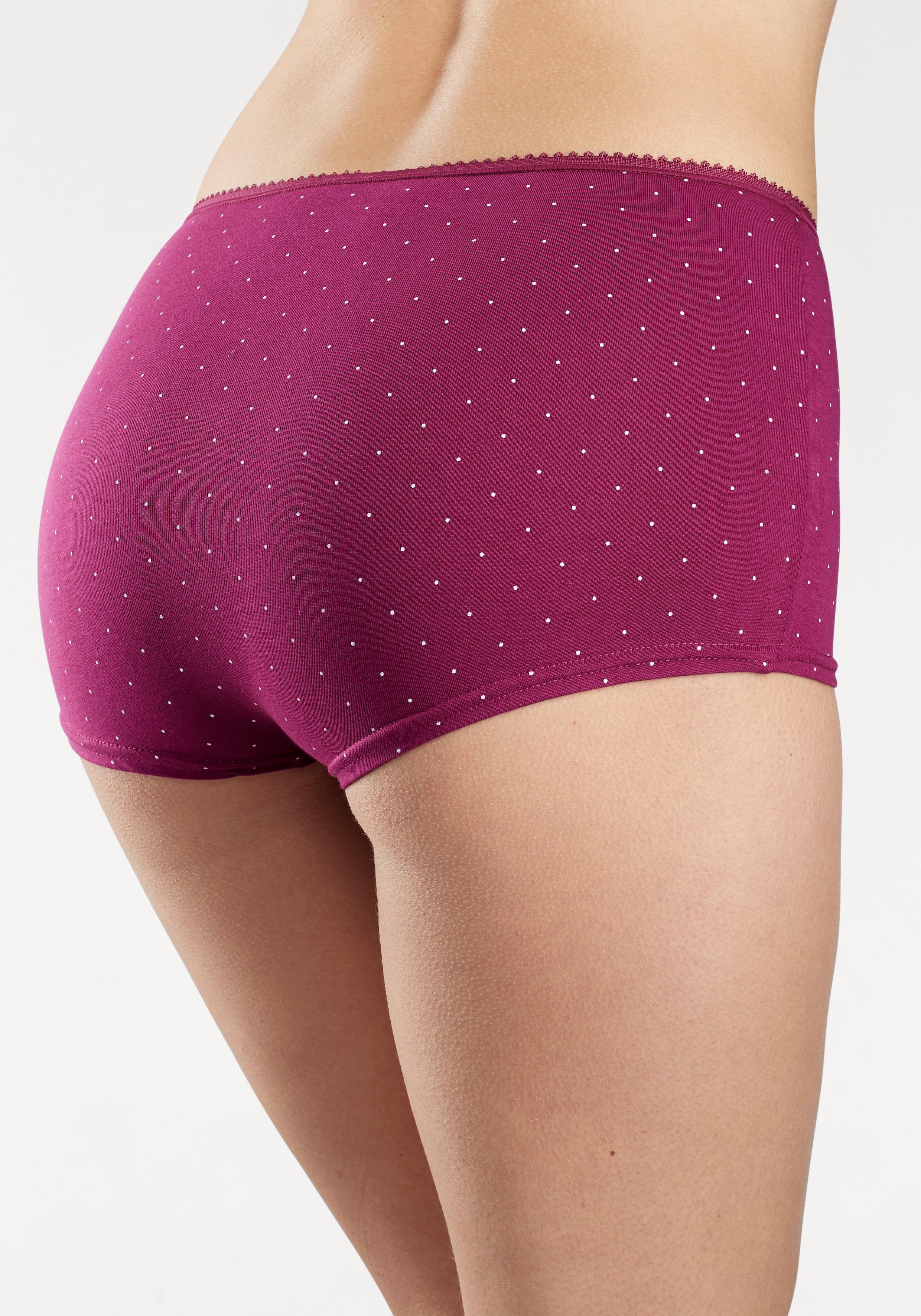 PETITE FLEUR Panty 7 Stück Unterhosen Damen Spar-Sets Panties Damenwäsche