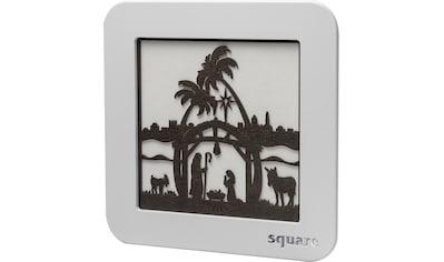 Weigla LED-Bild »Square - Wandbild Christi Geburt«, (1 St.), mit Timer, einseitiges Motiv kaufen