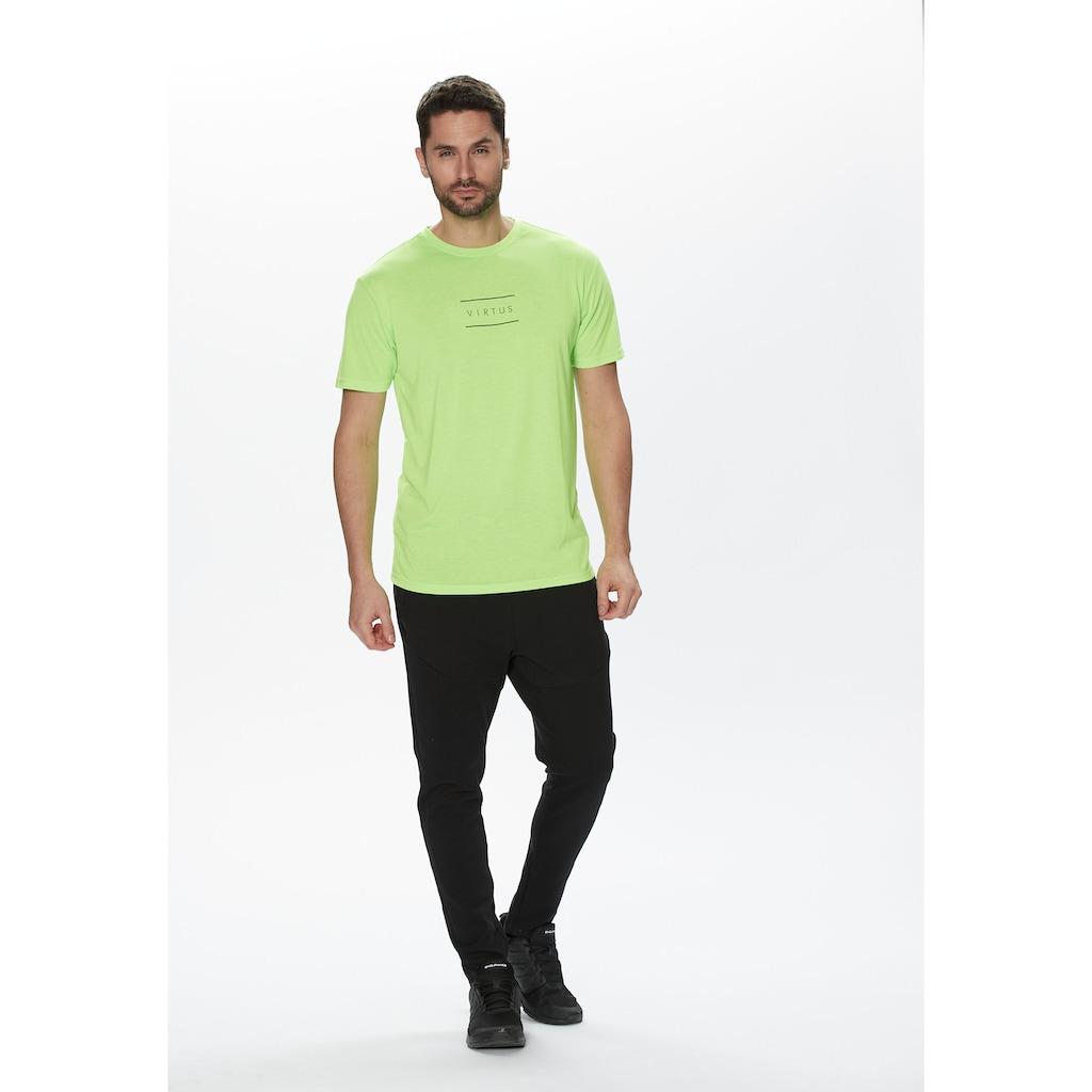 Virtus T-Shirt »HODDIE M S-S Tee«, mit schnell trocknender QUICK DRY Technologie