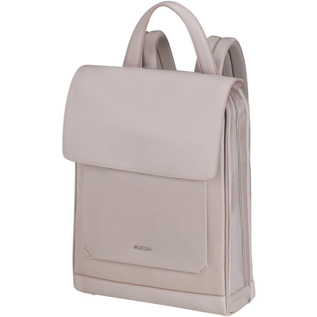 Samsonite Laptoprucksack »Zalia 2.0 Flap, stone grey«