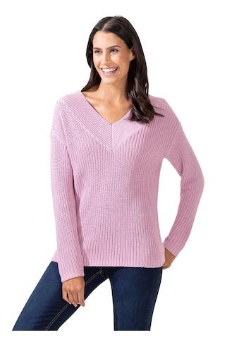 Inspirationen V-Ausschnitt-Pullover »Pullover« kaufen