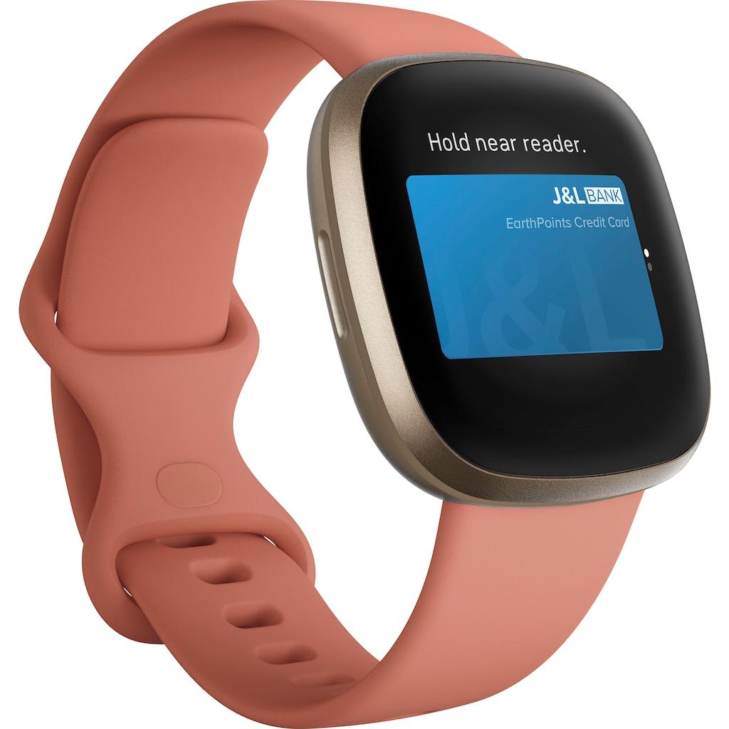 fitbit Smartwatch »Versa 3«, ( FitbitOS5 )
