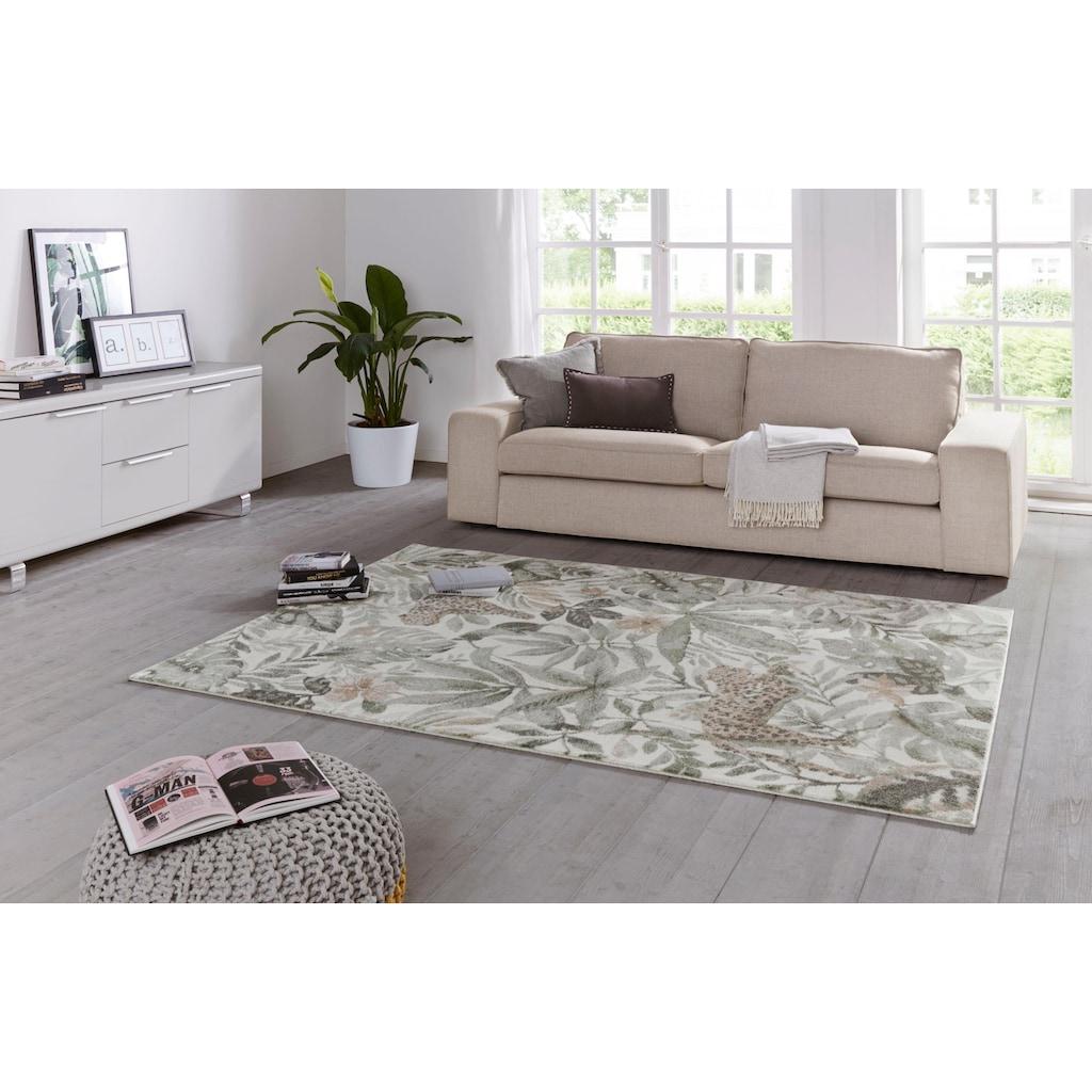 ELLE Decor Teppich »Sambre«, rechteckig, 11 mm Höhe, Kurzflor, besonders weich durch Microfaser, Wohnzimmer