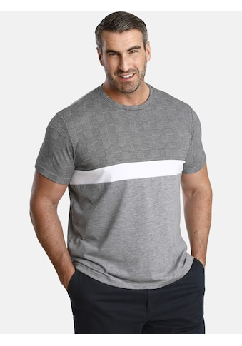 Charles Colby T-Shirt »EARL GORDON«, klassisches Glencheck-Muster kaufen