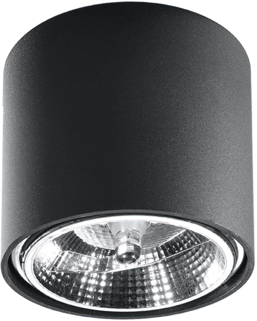 SOLLUX lighting Deckenleuchte TUBE, GU10, 1 St., Deckenlampe
