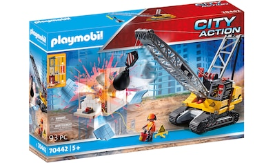 Playmobil® Konstruktions-Spielset »Seilbagger mit Bauteil (70442), City Action«, ; Made in Germany kaufen