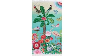 Happiness Strandtuch »Botanica«, (1 St.), mit Fransen kaufen